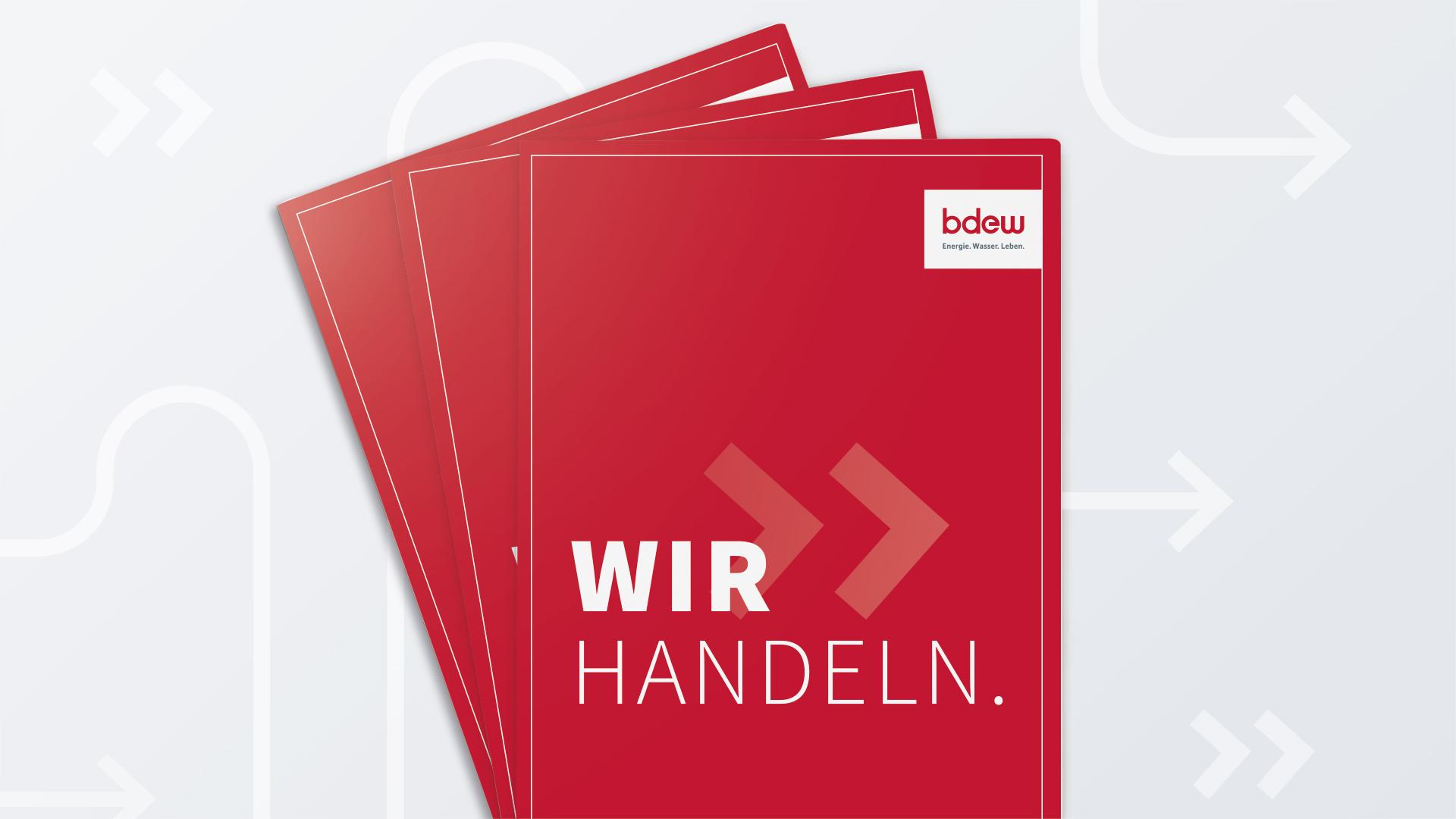 publicgarden Imagebroschüre BDEW | Cover