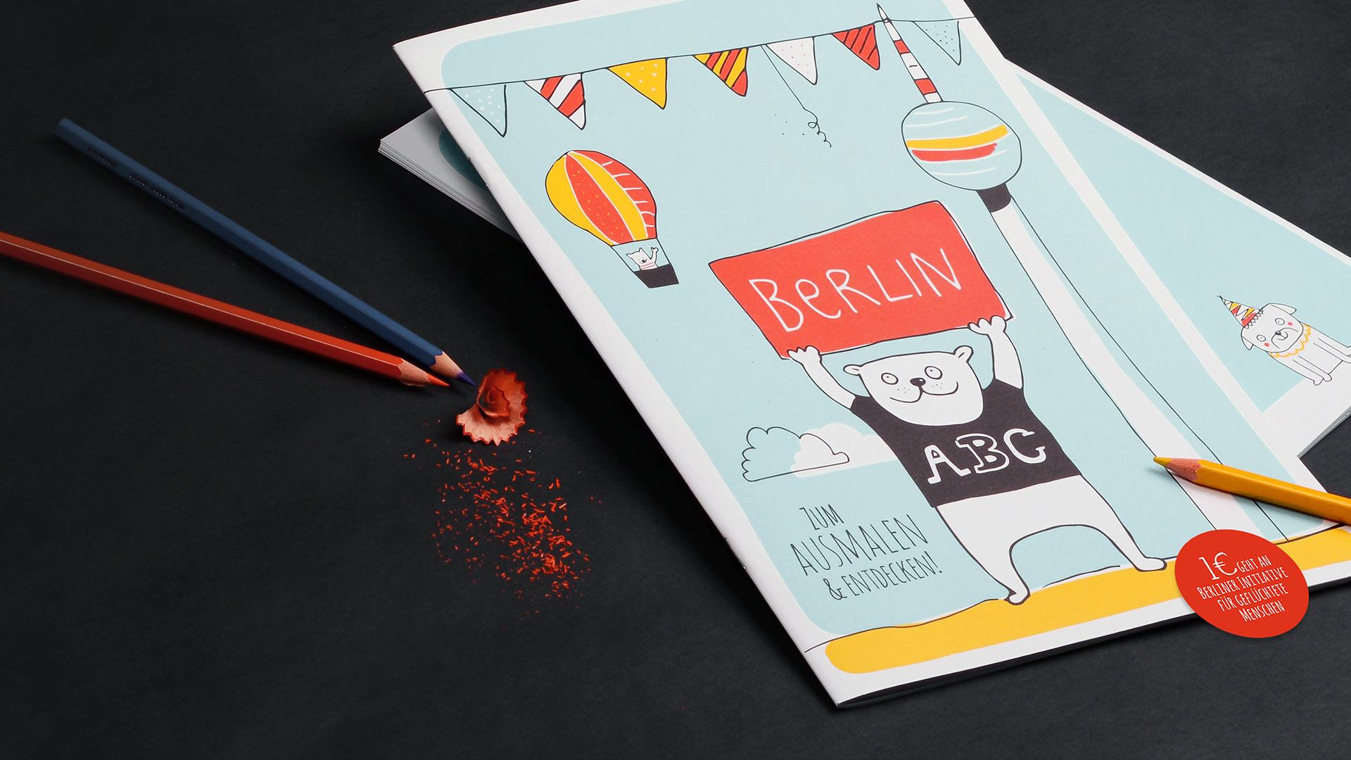 Berlin ABC Malbuch Cover