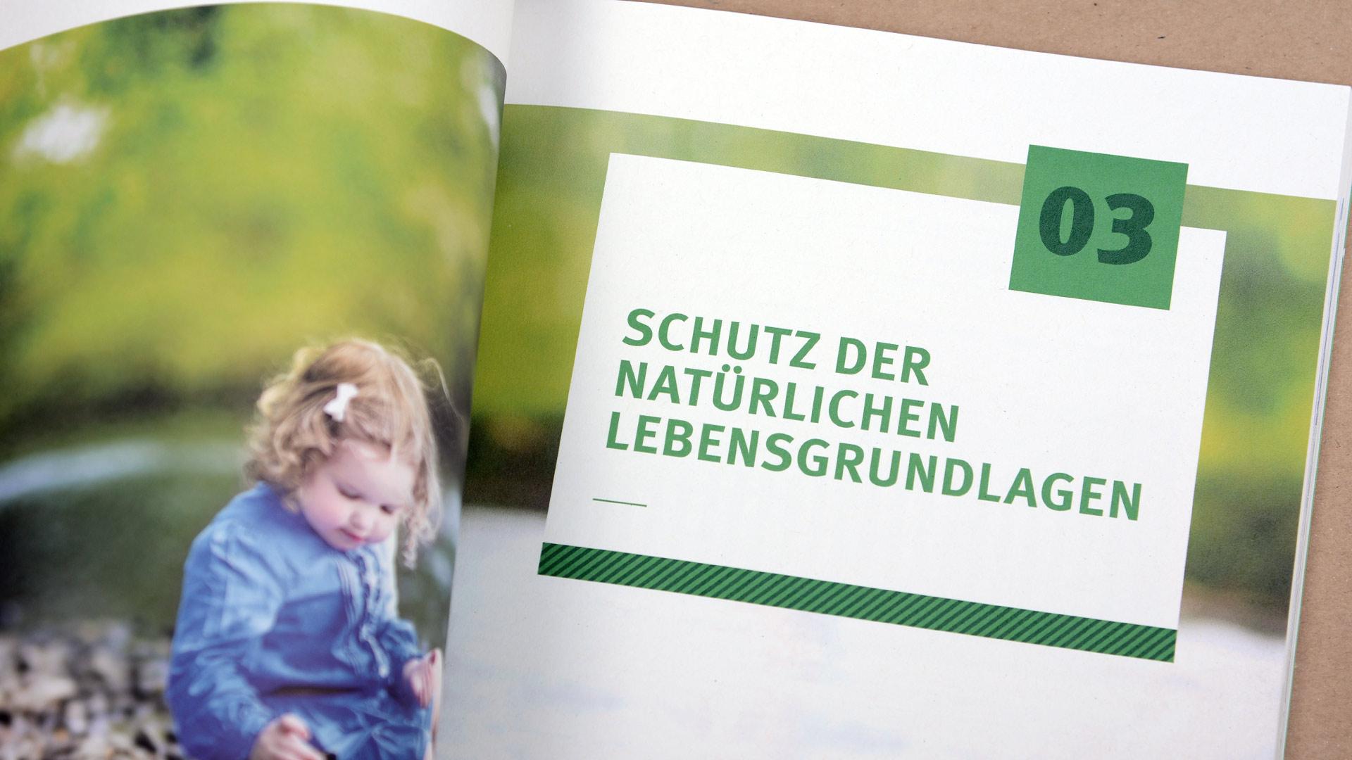 UBA-Broschüre Daten zur Umwelt , Kapiteltrener