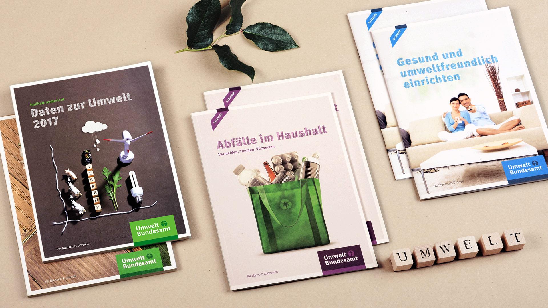UBA-Broschüre auf einen Blick