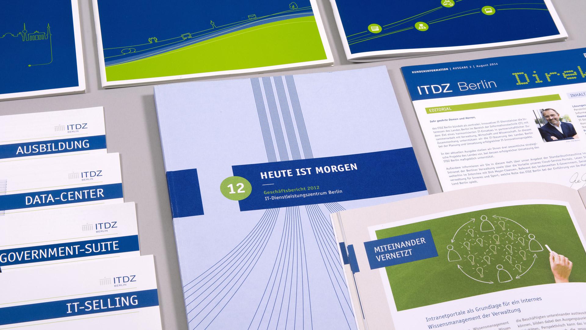 Geschäftsberichte, ITDZ Berlin