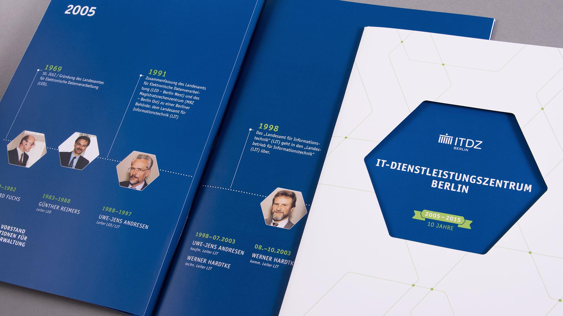 Jubiläumsbroschüre für ITDZ
