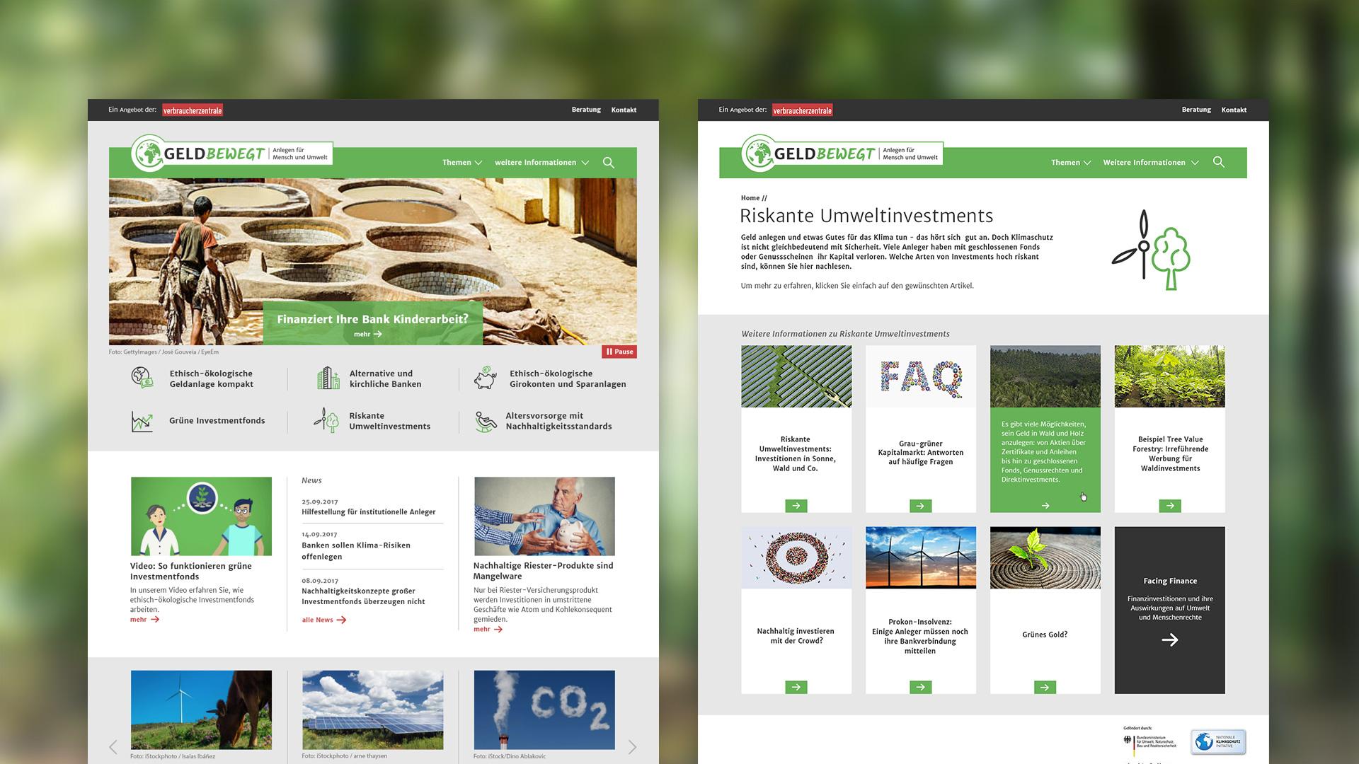 Microsite für Verbraucherzentrale Bremen | Homepage