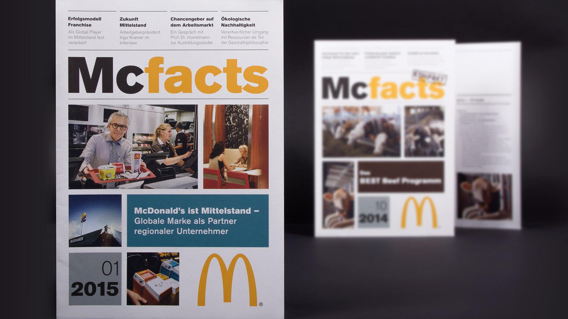 McFacts-Broschüre McDonald's