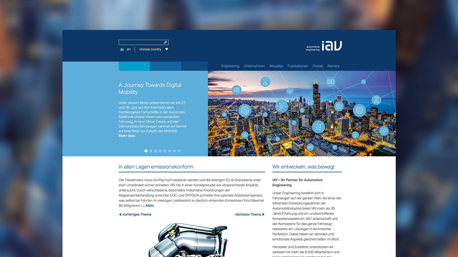 Startseite IAV