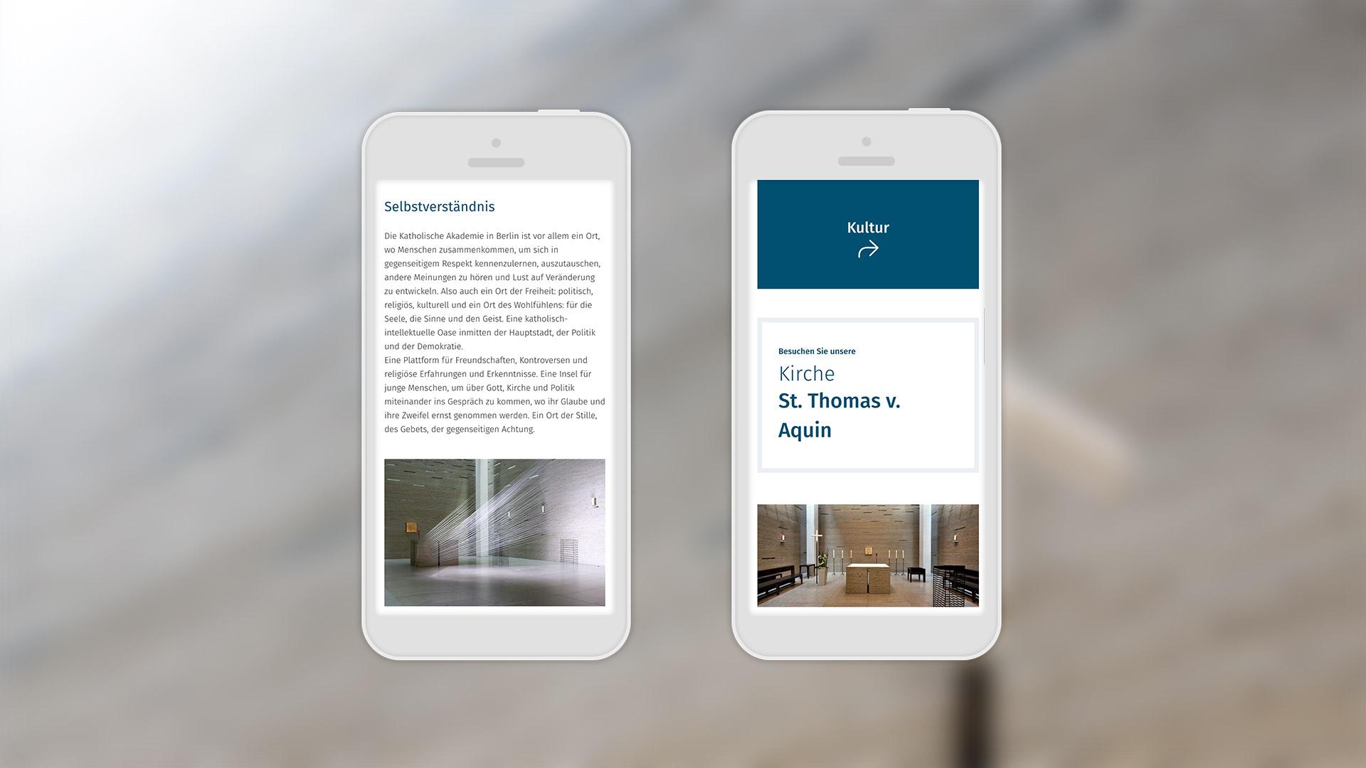 Katholische Akademie |Mobile Ansicht