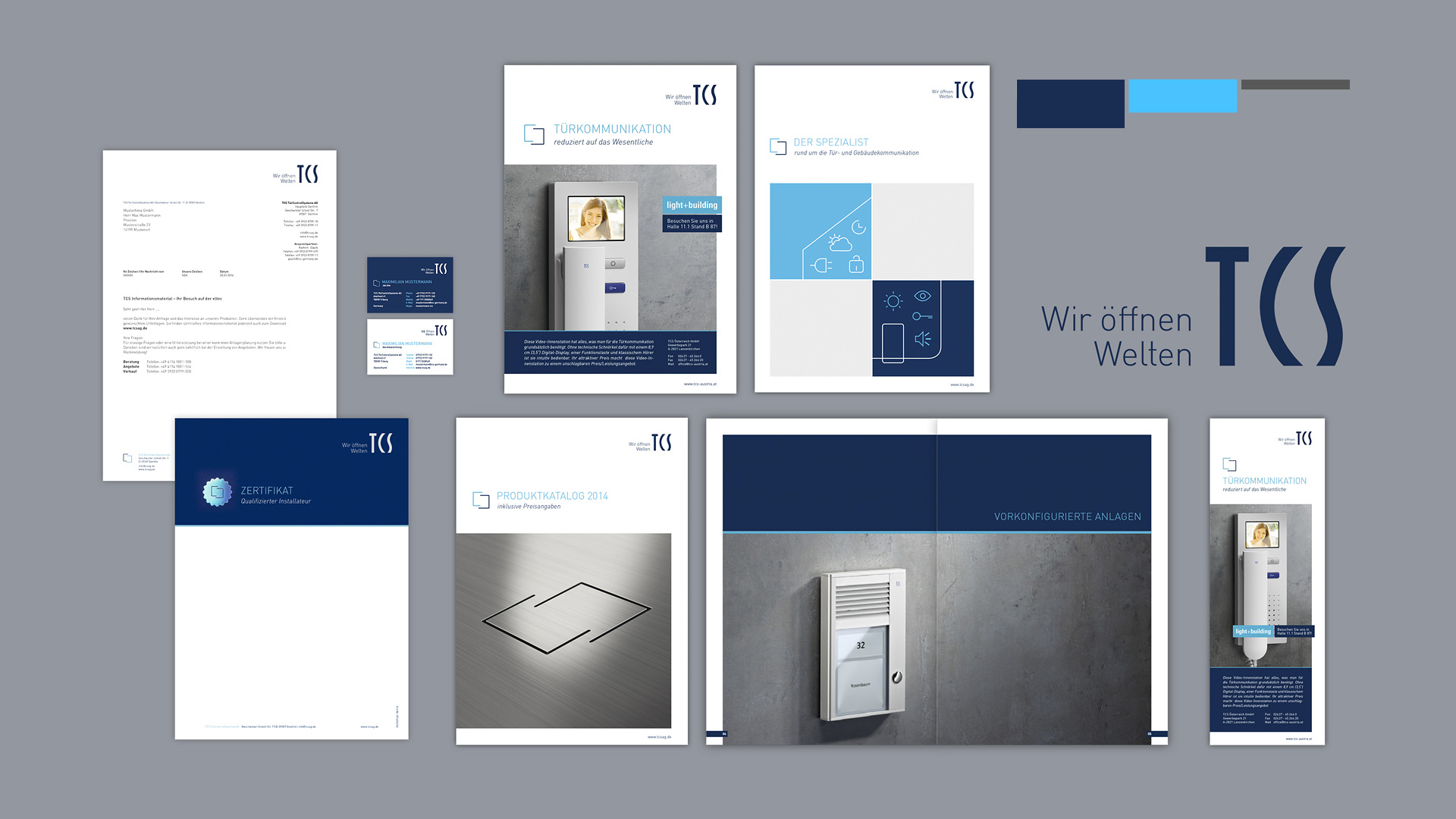 Corporate Design, Logo-Relaunch,  Entwicklung Responsive Webdesign