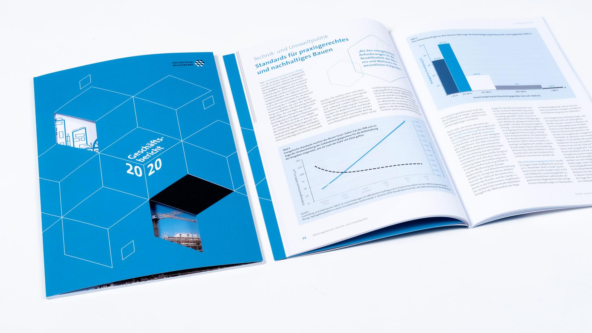 ZDB Geschäftsbericht:Zahlenseite