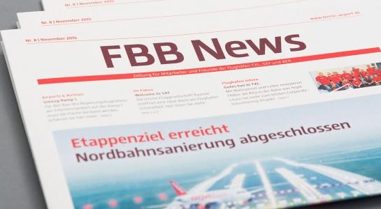 "Gestaltung ""FBB News"""