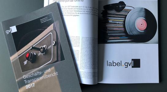 GVL - Geschäfts- und Transparenzbericht erschienen