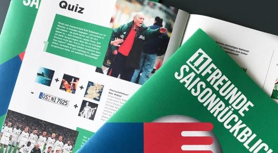 Magazin für 11FREUNDE Saisonrückblick-Tour | publicgarden