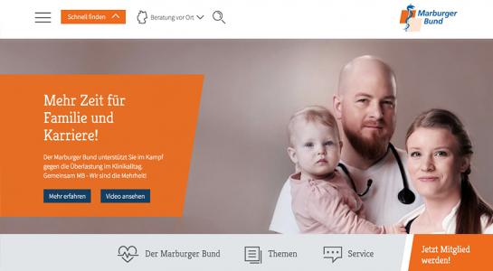 Relaunch für Marburger Bund