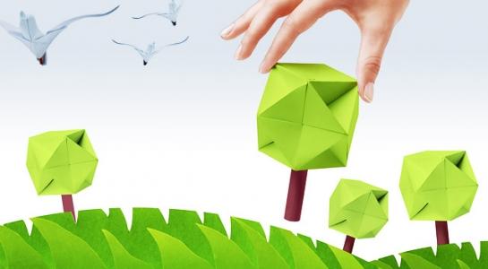 Papier – Recycling, Natur, Umwelt? Nachhaltig drucken (Foto Mandrixta, ©iStock thinkstock)