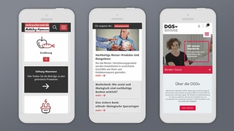 Drei neue Webprojekte sind online