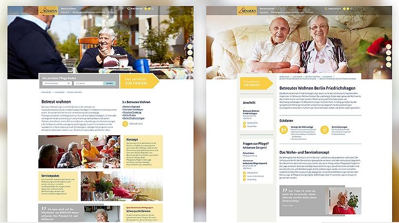 Die neue Corporate Website von Renafan ist online.