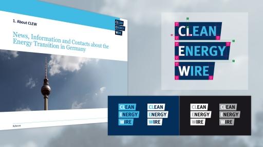 Corporate Design für Clean Energie Wire