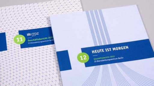 Geschäftsberichte Cover ITDZ Berlin