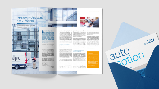 IAV Kundenmagazin automotion: Fokusthema