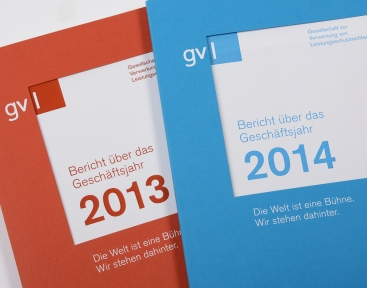 Geschäftsberichte Cover 2013 und 2014
