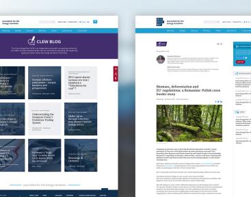 CLEW | Unterseiten des Webprojektes