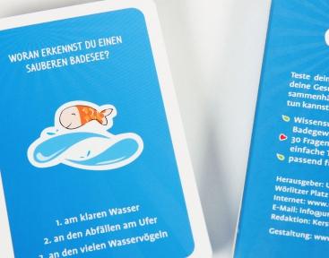 Umweltkartenspiel für Kinder, Umweltbundesamt
