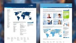 Verschiedene Unternehmensbereiche im Webdesign aufeinander abgestimmt
