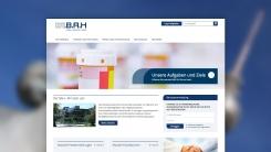 Startseite des Webprojektes