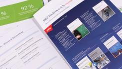 Innenansicht Broschüre BWE Service
